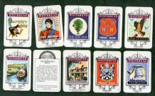 Collectible  Trade  cards set Stratford upon Avon Inn Signs by Whitbread